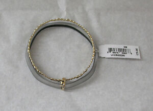 NWT Alexis Bittar Lucite Paired Bangle Bracelet