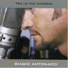 BIAGIO ANTONACCI - TRA LE MIE CANZONI - CD DIGIPACK LIVRE DISQUE 17 TITRES 2000