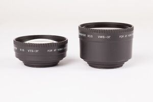 Sigma Aux Conversion Lenses for AF Video - VWS-37 0.5X Wide and VTS-37 1.5X Tele