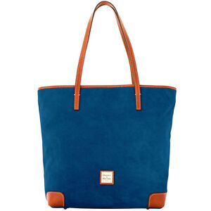 NWT*Dooney & Bourke*Royal Blue*Suede*Everyday*Tote* 17087L S174