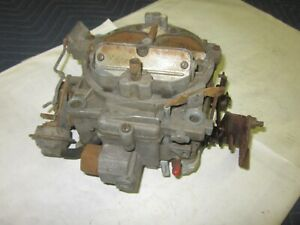Original 1972 Chevy Corvette Camaro Chevelle Nova Quadrajet Carburetor 7042202