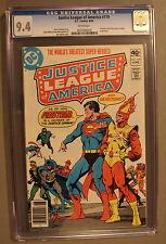 Justice League of America #179 FIRESTORM Joins 1980 Zatanna STARLIN-c CGC NM 9.4