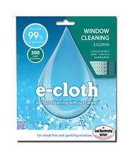 E-cloth Pack De 2 ventana Paño Marcos travesaños Limpieza De Vidrio Pulido Absorvente