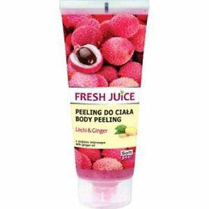 Fresh Juice Körperpeeling LITSCHI & INGWER