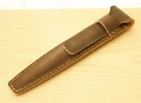 fountain pen storage bag Genuine cow Leather pouch Customize case black z135