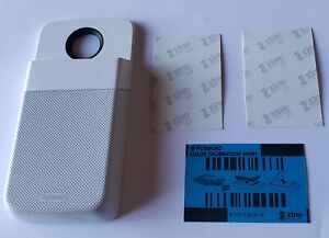 Unused White Motorola Moto Mod Moto Z Polaroid Insta-Share Printer in Bulk Pkg