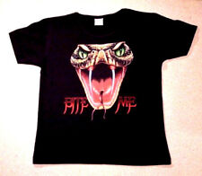 """T-shirt """"cobra serpiente-bite me"""" también como señora-girli camisa nuevo"""