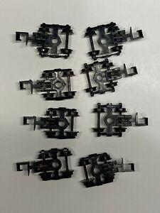 N Scale - Trucks w/ Rapido Type Couplers (4 Pair) N3725