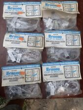 "6 packs vint. Benson Clip-O-Matic High Speed Installation Accessory 15"" Shutters"