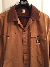 State Property by Roca Wear Heavy duck cotton work jacket Khaki/Tan Size 3XL EUC