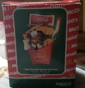 Enesco McDonalds Ornament Twas The Night Before Christmas-1990