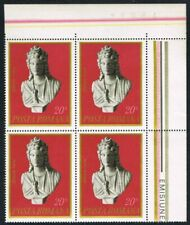 Romania 1974. Archaeological Finds. Zeita Isis. Corner block of 4. MNH