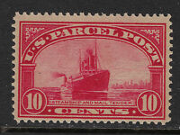 SCOTT Q6 1913 10 CENT STEAMSHIP PARCEL POST ISSUE MNH OG F-VF CAT $57!