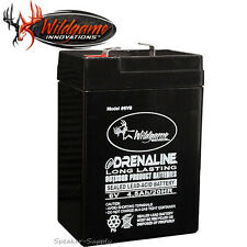 Wildgame 6V Rechargeable Battery Modified Power Wheels Deer Feeder 4.5 Amp 6VB