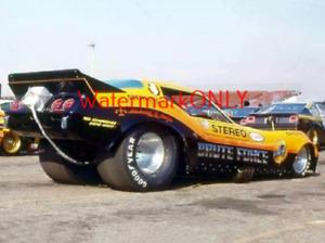 "John ""BRUTE"" Force 1978 ""Leo's"" Chevy Corvette NITRO Funny Car PHOTO! #(19)"