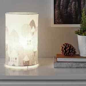 Ikea Strala Tischleuchte Landschaft 30 cm Hoch  NEU Lampe Leuchte