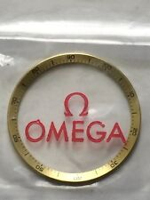 Omega Seamaster 1970's Chronograph Decimetre Gold Bezel 176.007 New