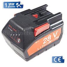 Drill battery pack for Milwaukee V28 28V 28 VOLT Battery 48 11 2830 uk stock New