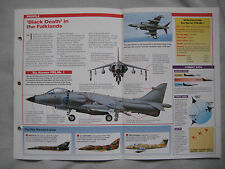 Aircraft of the World Card 2 , Group 7 - British Aerospace Sea Harrier FRS.Mk 1