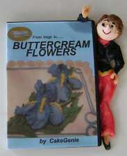 BUTTERCREAM  FLOWERS, cake decorating video, DVD  10  buttercream flowers