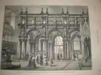 Rood Screen from Bois-Le-Duc Cathedral South Kensington Museum 1873 print London
