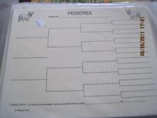 Welsh Corgi Blank Pedigree Sheets Pack 10