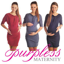 New MATERNITY BATWING DRESS TUNIC Pregnancy Clothing Size 8 10 12 14 16 18 6407