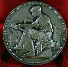 BELLE MEDAILLE Félix CHABAUD Henri DUBOIS centre syndicale 40mm Monnaie de Paris