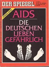 SPIEGEL 40/1992 Der sorglose Umgang mit Aids