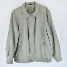 Golf Jacket Coat Wind Breaker - Gray / Taupe - Mens XL