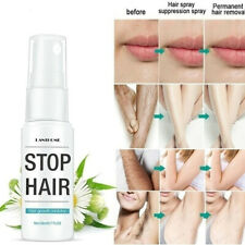Powerful Permanent Hair Removal Spray Stop Hair Growth Inhibitor Remover 20ml US