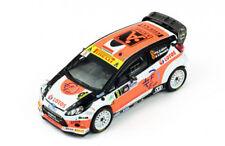 Ford Fiesta RS WRC n°8 1er rallye Monza - 2014 - Kubica 1/43 Ixo