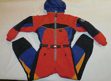 OBERMEYER SKI SNOW SUIT I GROW INSULATED HOOD JACKET PANTS COMPASS BOY'S 8