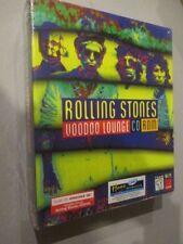 ROLLING STONES VOODOO LOUNGE PC CD-ROM 1995 ORIGINAL UNOPENED BOX