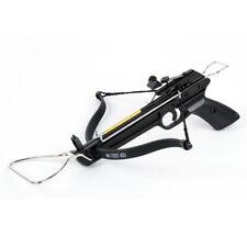 80 lb Aluminum Pistol Crossbow bow, 15 Bolts / Arrows + 2 Strings 180 175 150 50