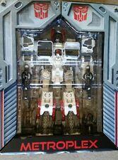 Transformers Generations SDCC CHROME METROPLEX titan class unused loose READ