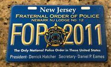 Vintage 2011 FOP Newark Fraternal Order of Police Collectible Card