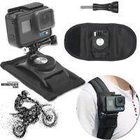 Riding Backpack Mount Bracket Holder For GoPro Hero 4 5 6 Accessory Camera