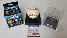 George Kell Autographed Baseball HOF 83  PSA AC97546