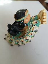 """Vintage~1996~Enesco~Frien ds of a Feather Figurine""""One Who Lifts Spirits"""" #267775"""