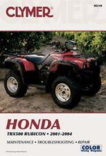 Clymer Repair Service Shop Manual Vintage Honda TRX500 FA Rubicon 01,02,03,04