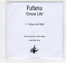 (GM820) Fufanu, Circus LIfe - DJ CD