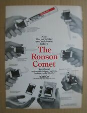 1968 Ronson Comet Varaflame Lighter / Voit Golf Club AD