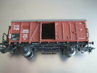 Marklin H0 DB Kassel Box Car with doors open on both sides - LN