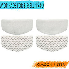 4x Washable Mop Pads Replacement For Bissell 1940 Series #5938,203-2633,1606668