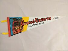 Grand Caverns Regional Park Grottoes VA Vintage Souvenir Flag