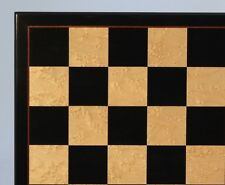 "Chessboard - 17"" ~ 2"" Sq's - Birdseye Maple with Elegant Framing (ww 50440bbm)"