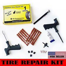 23 pc Tire Repair Kit DIY Flat Tire Repair Car Truck Motorcycle Home Plug Patch
