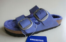 new BIRKENSTOCK Sandals ARIZONA Big Buckle Washed Metallic Violet US5 EU36 UK3.5