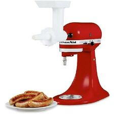 KitchenAid Sausage Stuffer Kit Stand Mixer Food Grinder Attachment Dishwasher